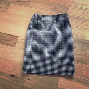 J. Crew Wool Tweed No. 2 Pencil Skirt Size 6